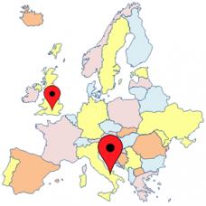 Trip between UK & mainland Europe